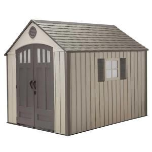 Lifetime 8 Ft X 10 Ft Storage Shed 60085 At The Home Depot Outdoor Storage Sheds Outdoor Storage Buildings Storage Shed