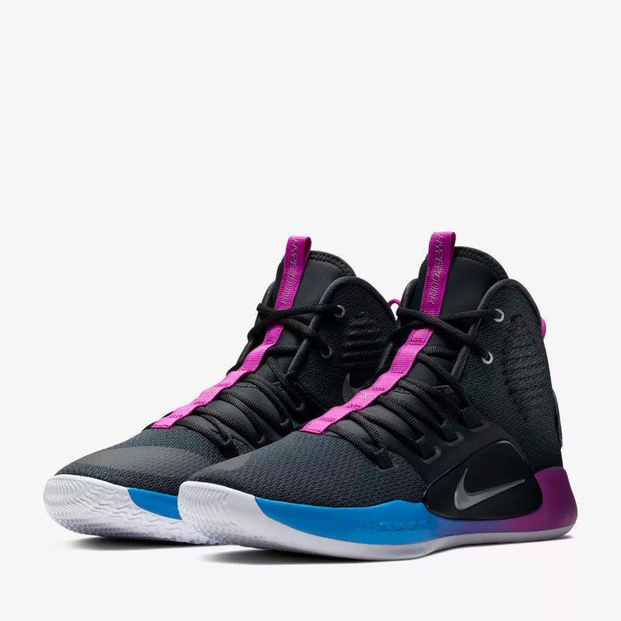 low priced f0409 98f33 Nike Hyperdunk X 2018 Flight Huarache High Cool Grey Basketball Shoes  AO7893-002  Nike  BasketballShoes
