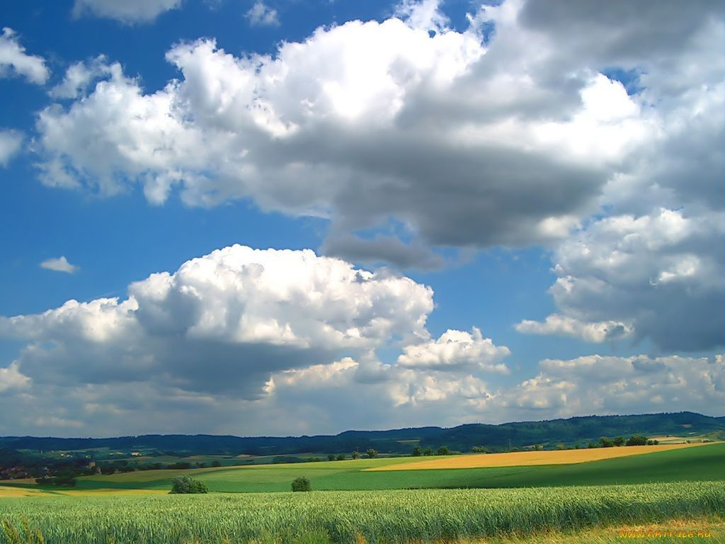 Обои Облака. Природа foto 6