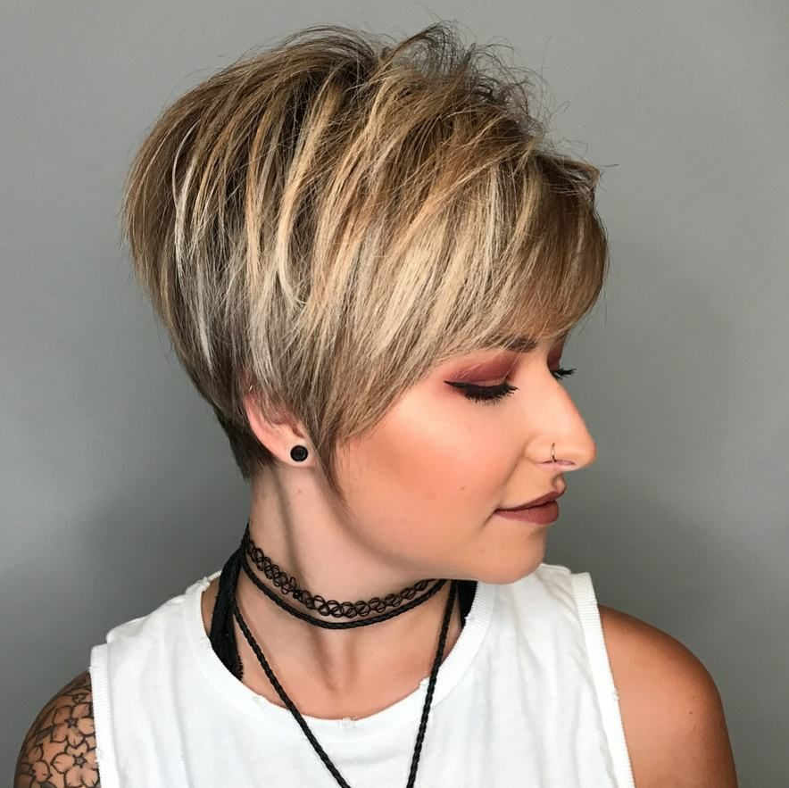 Short Styles For Thick Hair Delectable 10 Hifashion Short Haircut For Thick Hair Ideas 2018 Women Short