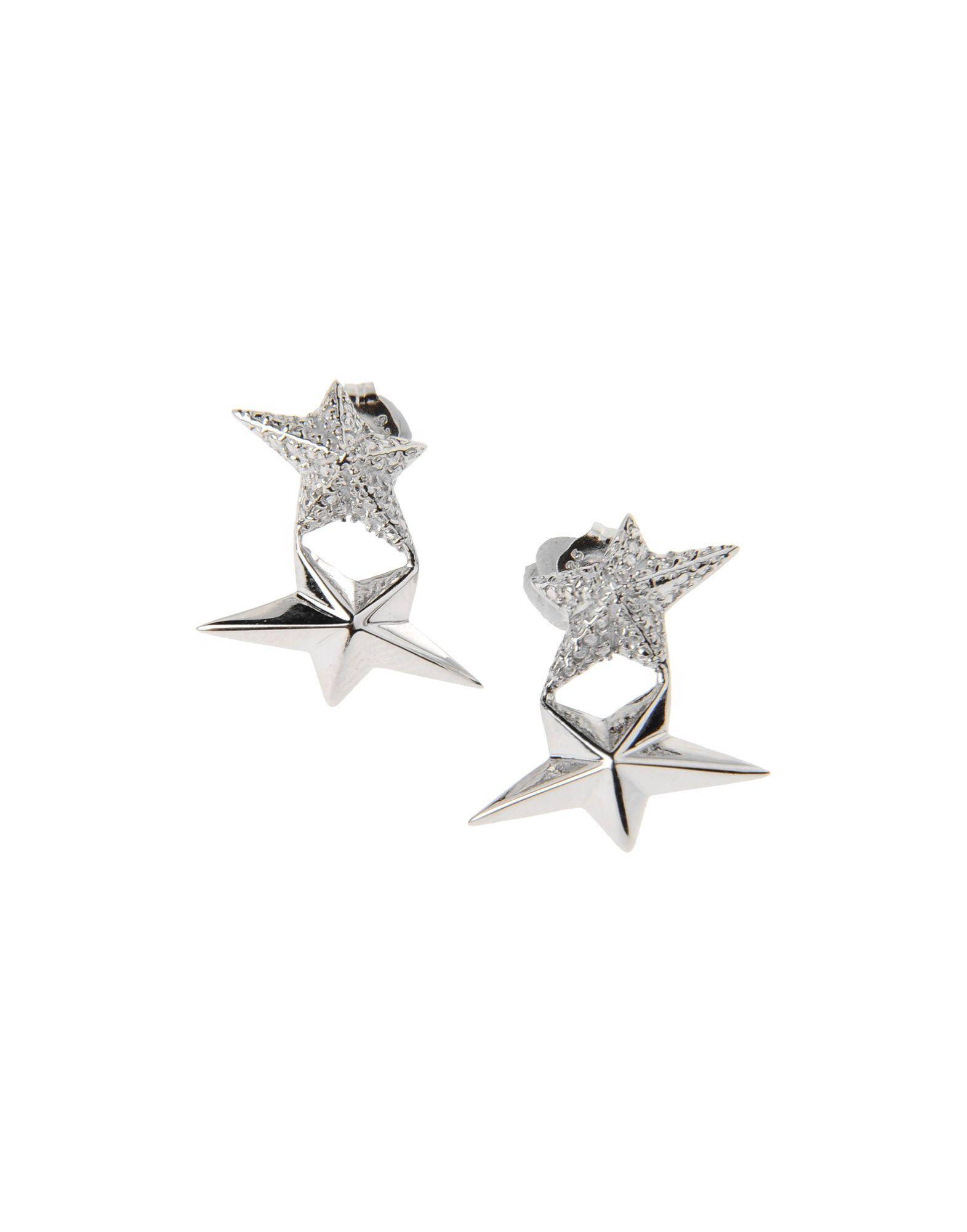 Thierry Mugler Earrings in Silver   Lyst  $91