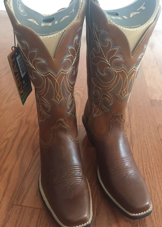 bfd7028f62b Women's Ariat Round Up Cowgirl Boots | Boutiquey | Cowgirl boots ...