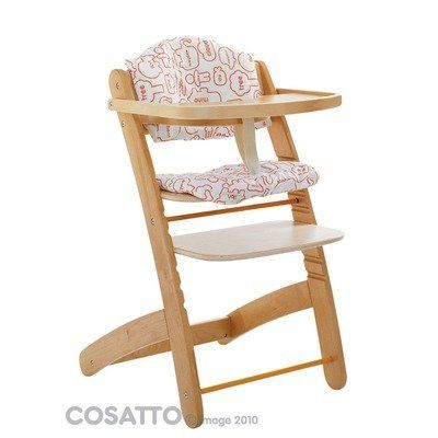 Cookie Word Zoo Highchair in Beech: Amazon.co.uk: Kitchen & Home