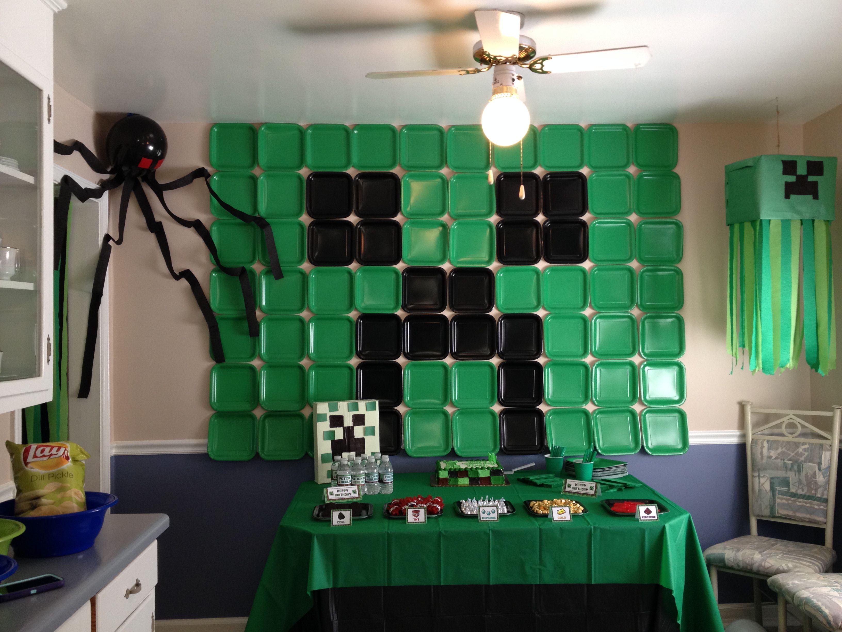 Minecraft birthday party | Minecraft birthday party ...