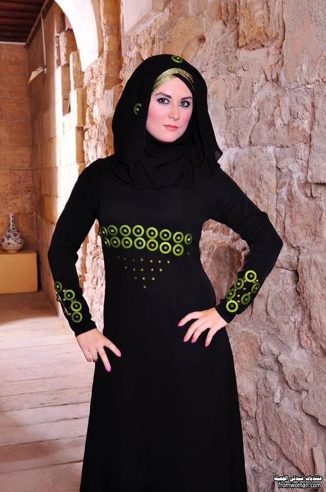 ادخلى احدث موديلات العبايات السوداء الجميلة Fromwoman1455035178665 Jpg Fashion Abaya Hijab