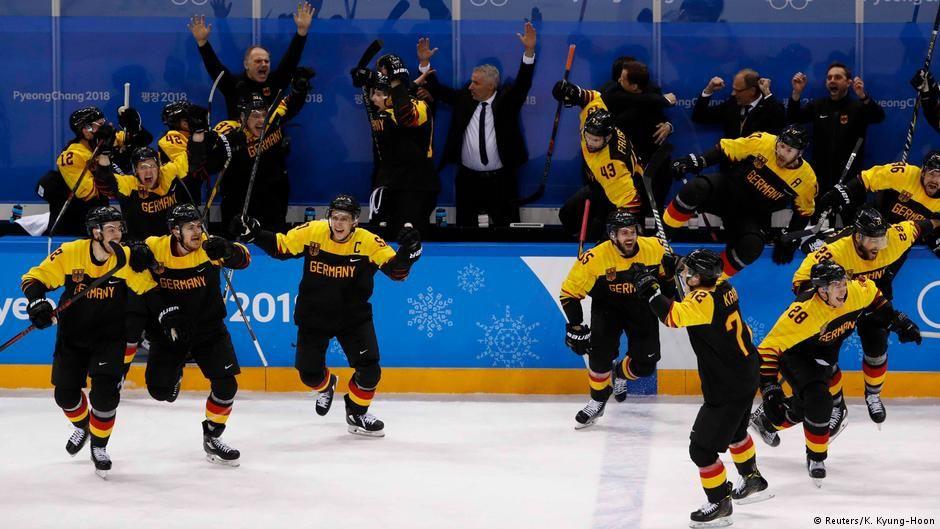 Eishockey Halbfinale Olympia