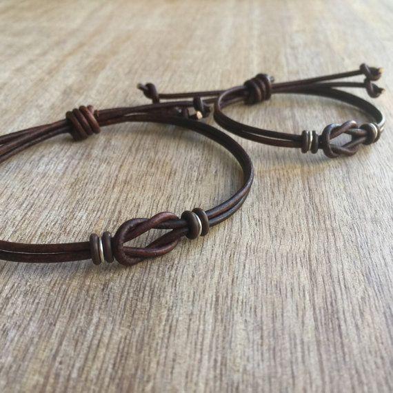 His And Hers Gold Bracelets: Sanibel Set, Couples Bracelets, His And Hers Bracelet, His