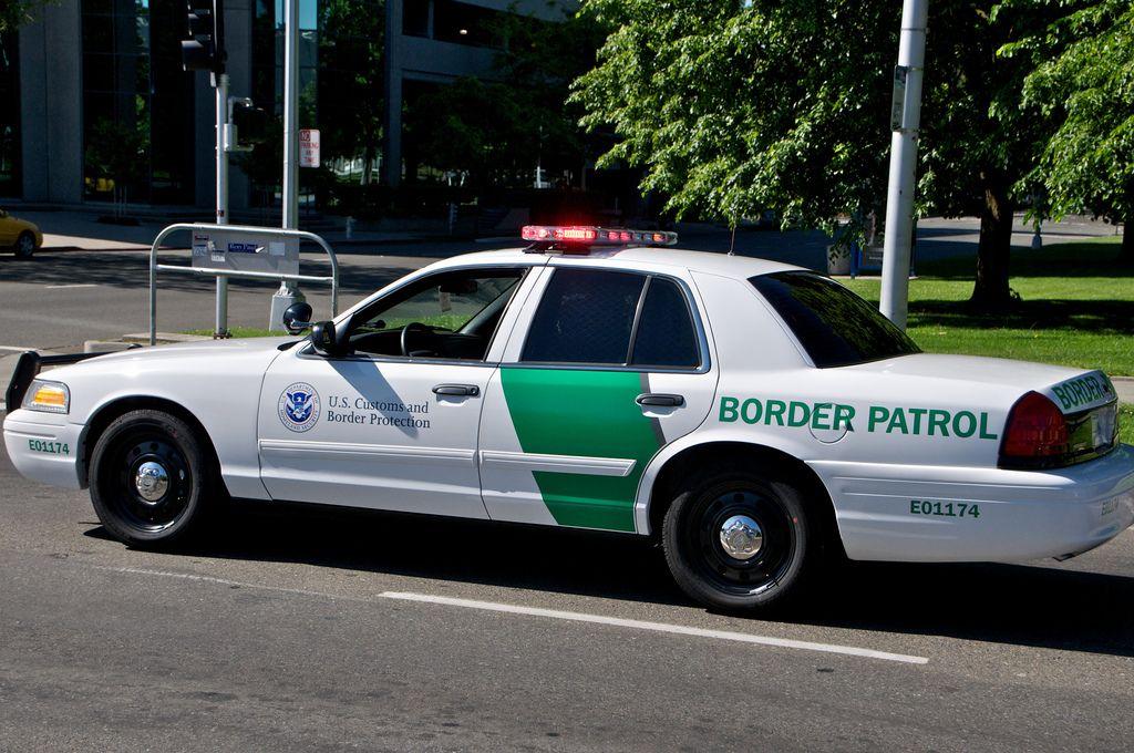 Us Border Patrol Ford Crown Victoria Victoria Police Ford Police Border Patrol