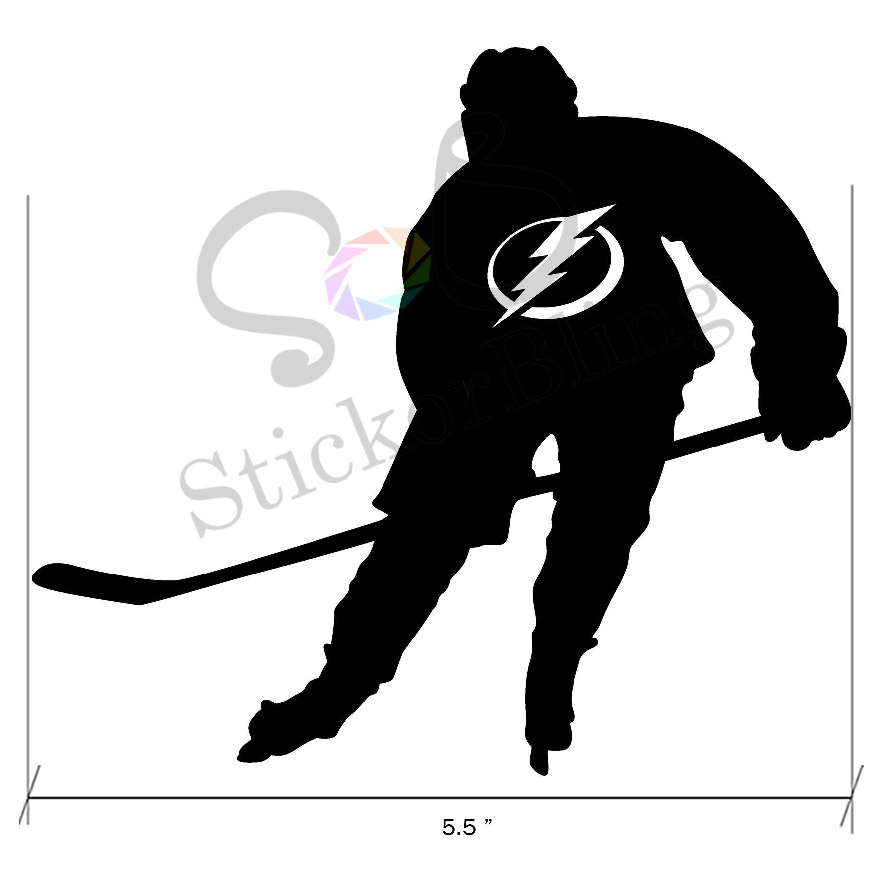 Tampa Bay Lightning Hockey Sports Vinyl Decal Sticker Car Window Bumper Computer Sports Vinyl Decals Tampa Bay Lightning Hockey Lightning Hockey [ 1800 x 1800 Pixel ]