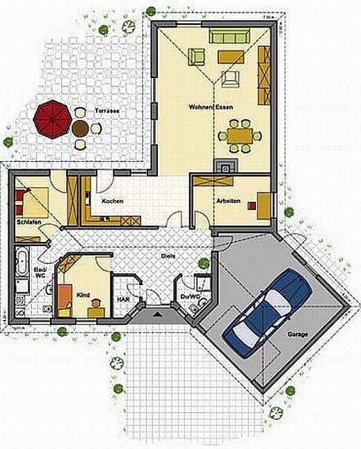 Bungalow B 159 EFFICIENCY HOUSE KfW 70! Haus