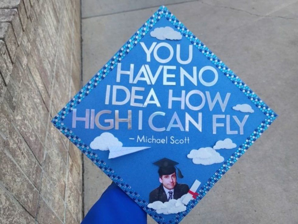 12 Graduation Cap Decorating Ideas For The Ultimate The Office Fan