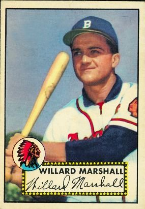 Willard Marshall 1952 Outfield