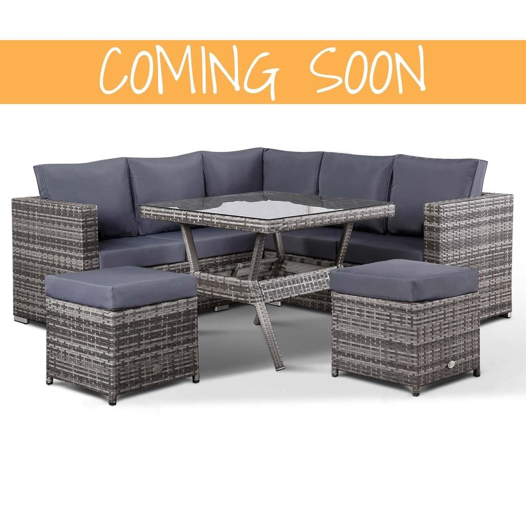 Surprising Lille Corner Sofa With Dining Table And 2 Stools In Small Cjindustries Chair Design For Home Cjindustriesco