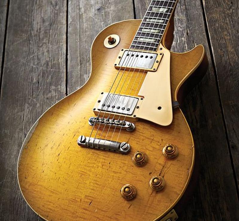 Bernie Marsden\'s Gibson Les Paul 1959 burst The Beast\