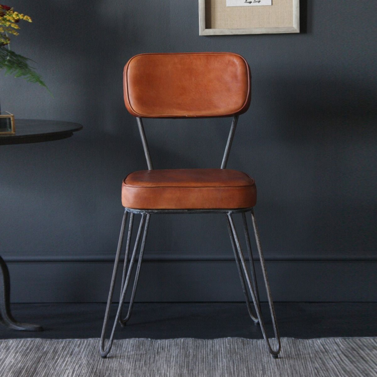 Hairpin Industrial Dining Chair Living Room In 2019 Vintage