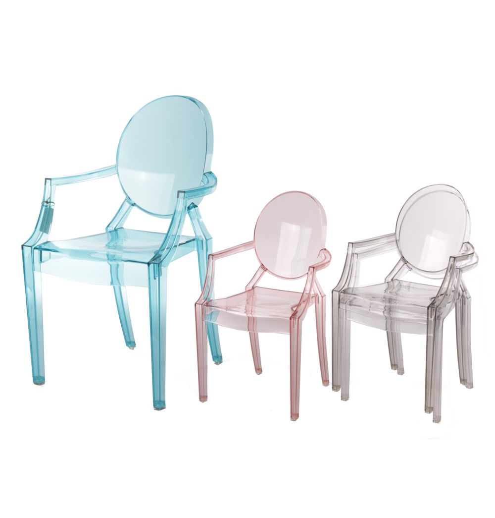 Replica Philippe Starck Louis Ghost Chair - Junior by Philippe ...