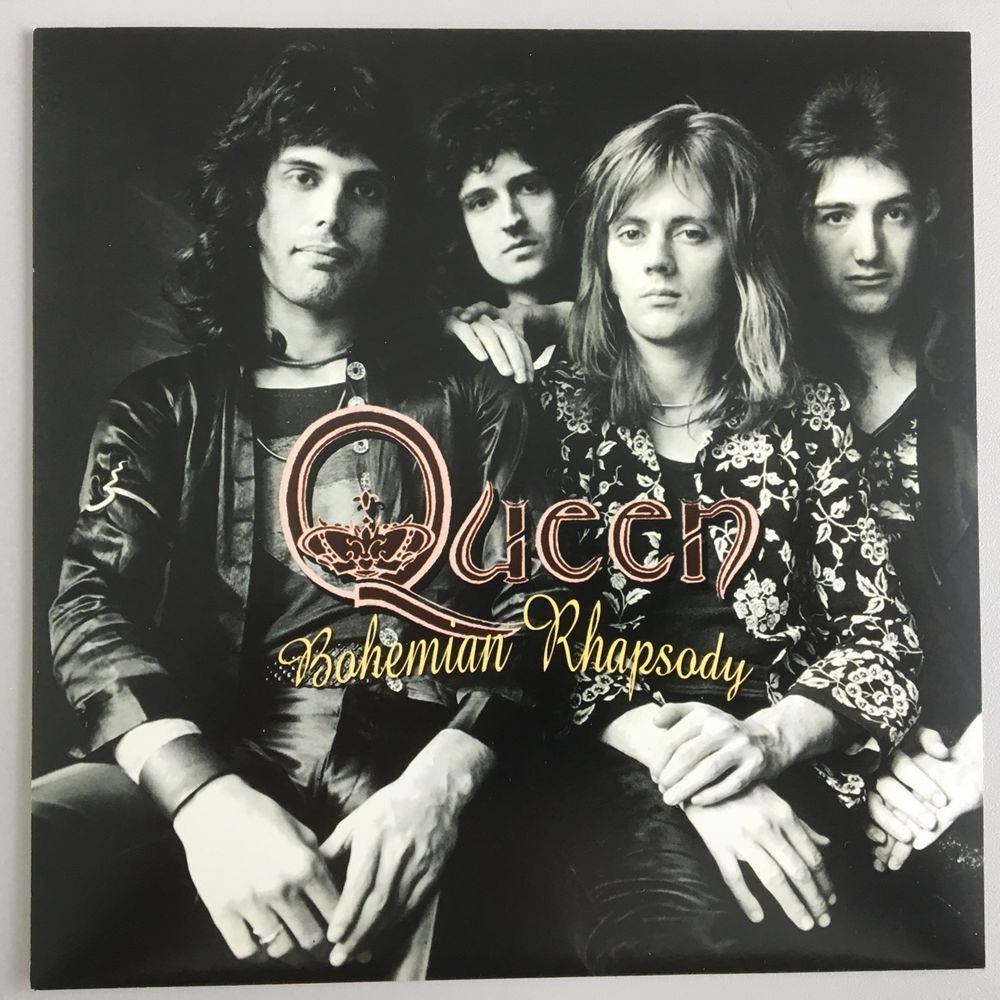 Queen Bohemian Rhapsody Spain Unique Sleeve Uk Vinyl Single Bohemian Rhapsody Queen Freddie Mercury Album Covers