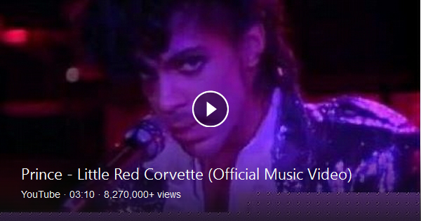 Prince Little Red Corvette Official Music Video Lees Music