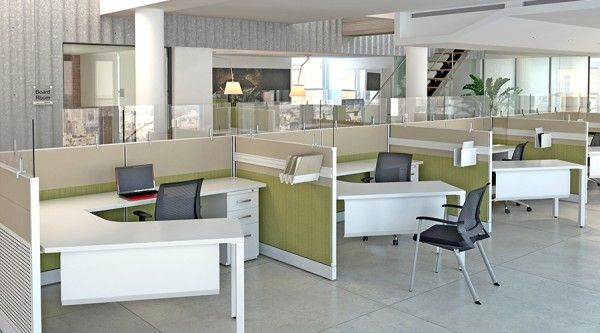 Benefits Of An Open Office Cubicle Concept Modern Office Cubicle Cubicle Design Office Interior Design