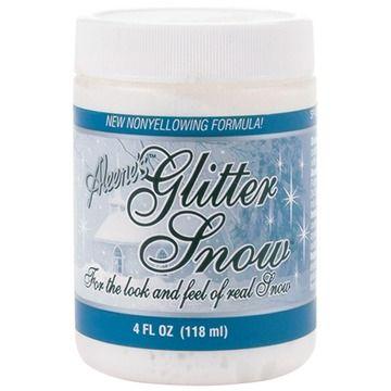 Aleene's Glitter Snow - 4oz