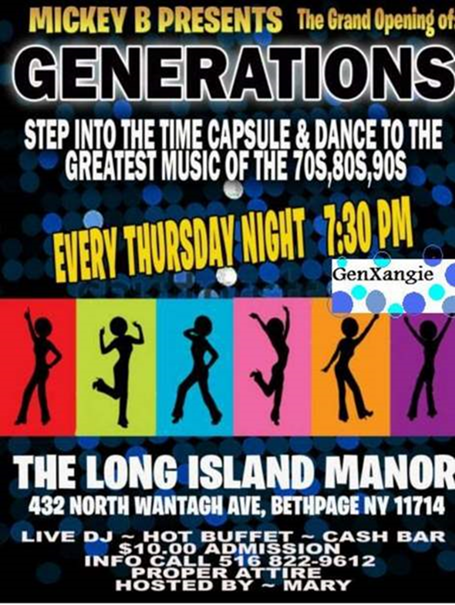 Generations Grand Opening Flyer  Designs We Love