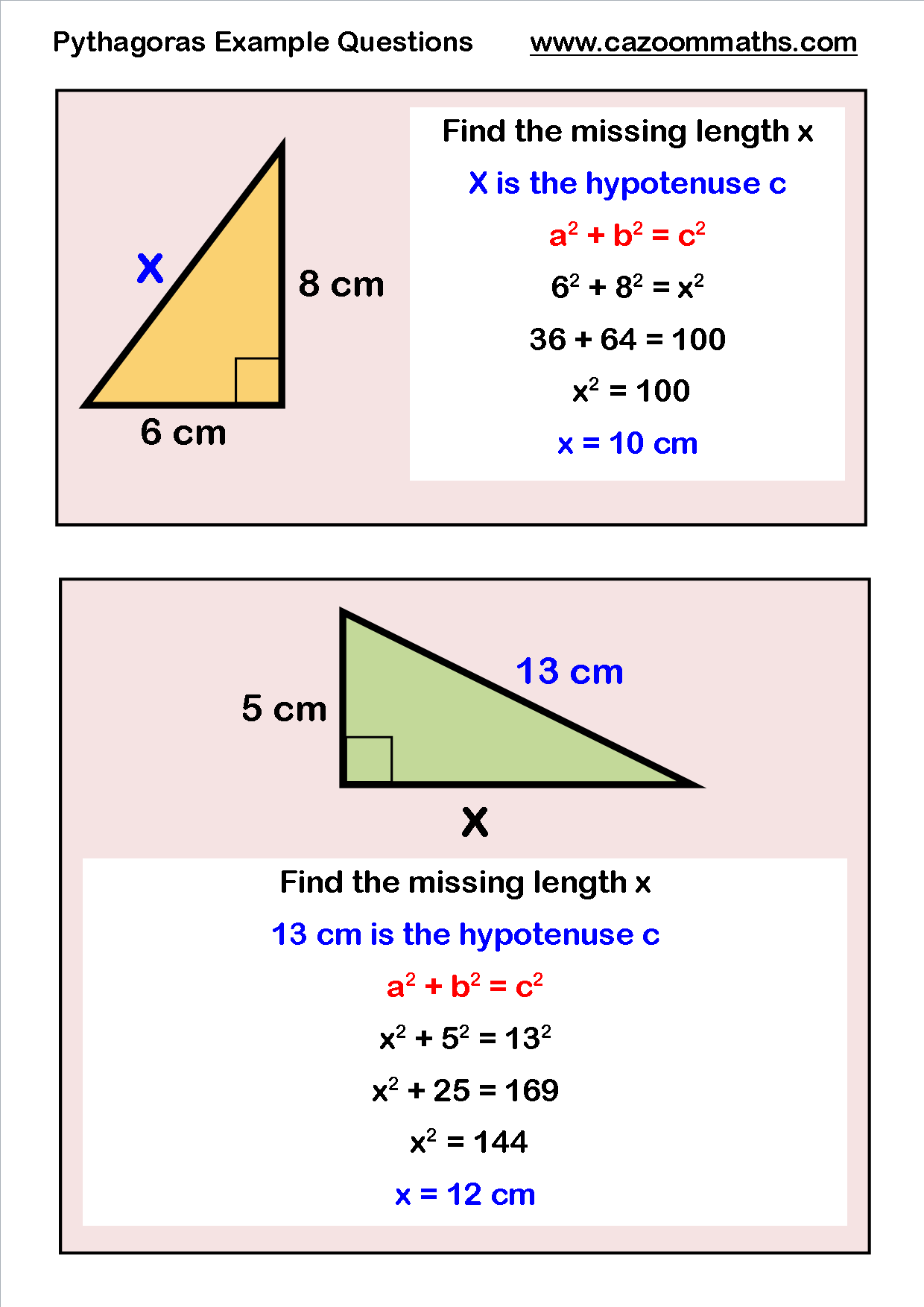 GCSE Maths Geometry Worksheets | Math, Math hacks and Geometry ...