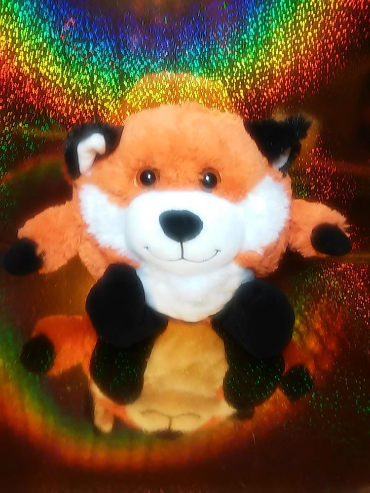 Toys R Us Animal Alley Chubby Fat Little Red Fox Foxy Plush In Toys