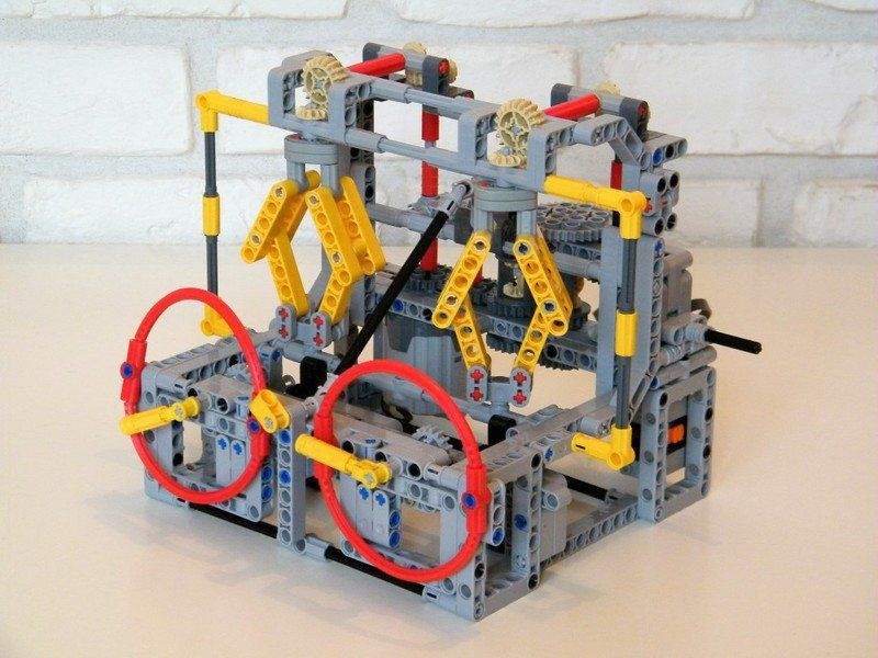 Lego Continuously Variable Transmission Лего