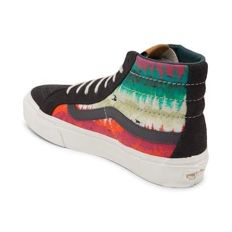 fd5b59b97b Take a hike with the awesome new Sk8 Hi Slim Mountain Ombre Skate ...