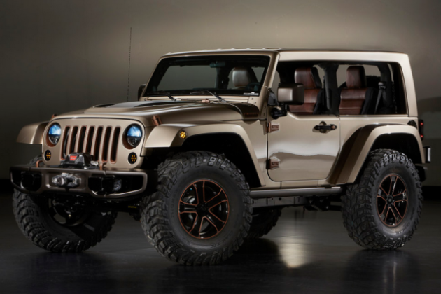 2017 Jeep Wrangler Unlimited Interior Redesign Concept