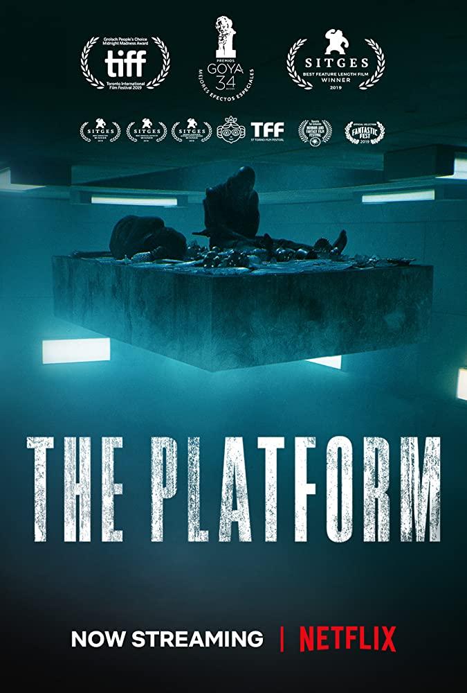 El Hoyo 2019 Película De Netflix Peliculas Póster De Cine