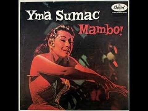 Mambo malambo .Yma Sumac cantante soprano de increible voz.Orgullo peruano.