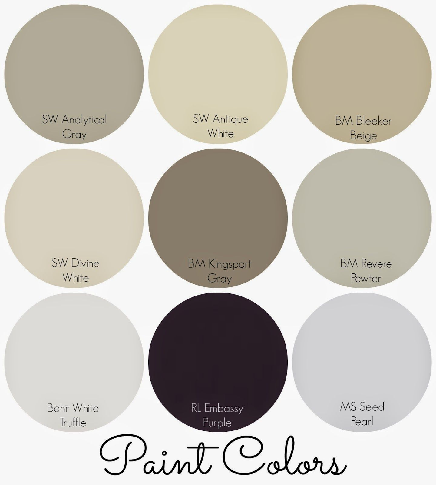 Sherwin williams antique white sherwin williams for White paint swatches