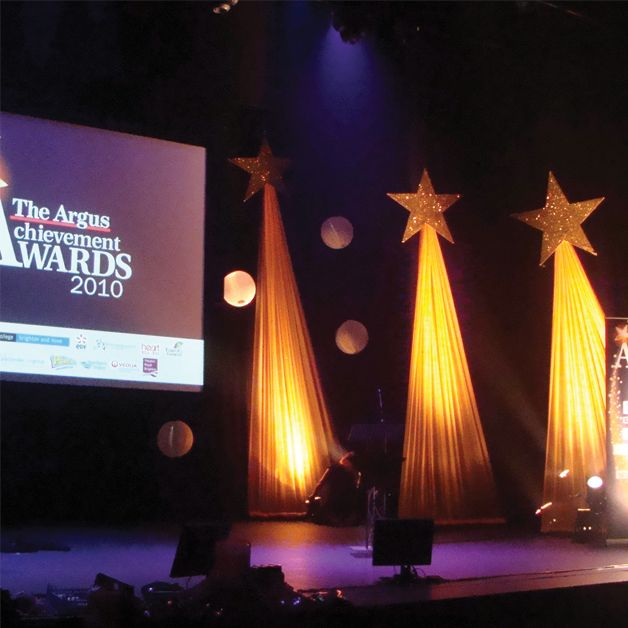 Stage Decor Drapery Shooting Star To See More Visit: Http