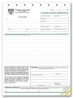 5568 landscape proposal form