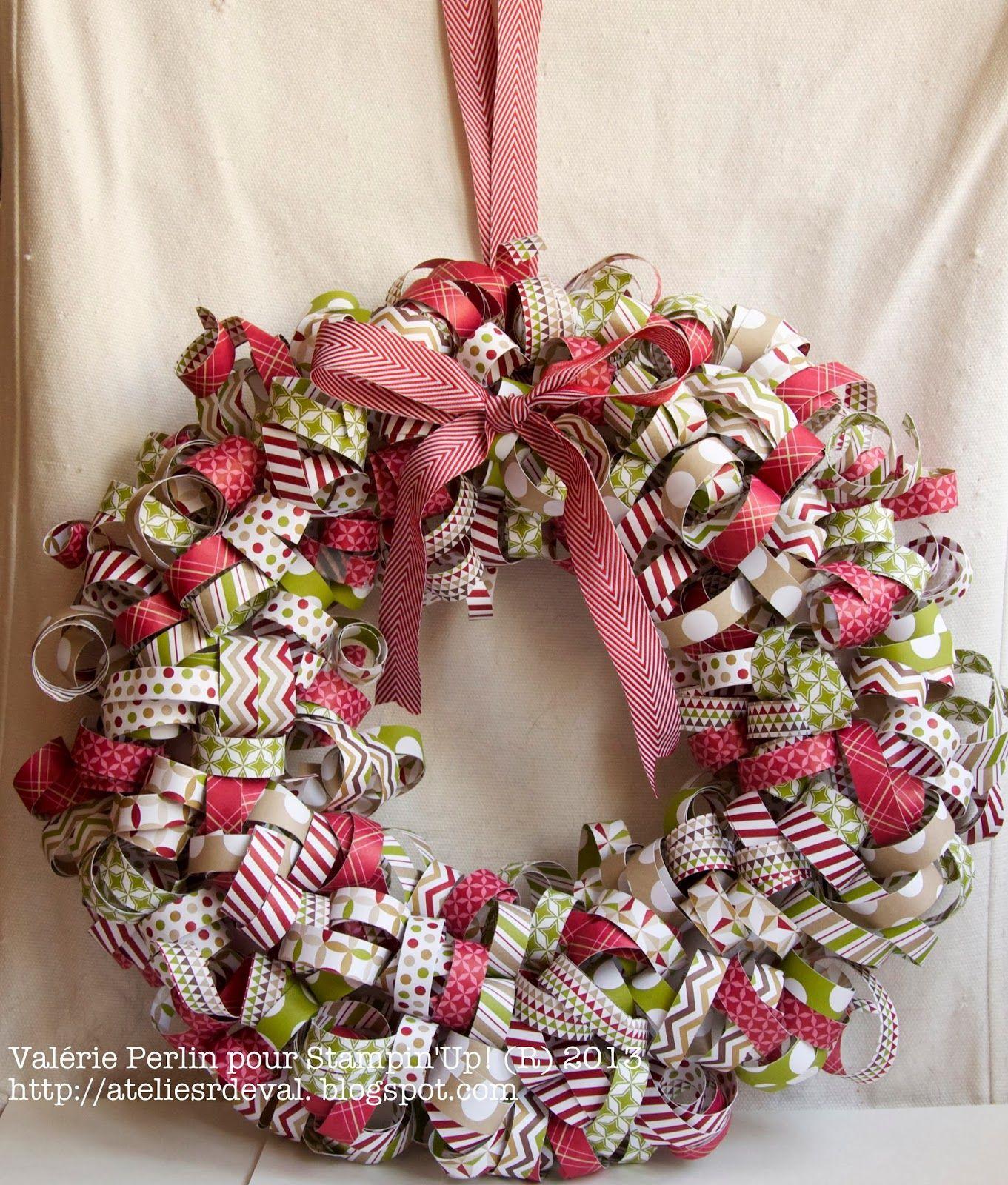 Atelier De Noel Les Ateliers de Val: Atelier couronne de Noel | Christmas wreath