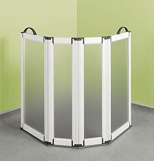 Portable Folding Shower Screen   4 Panel