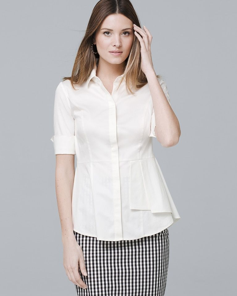 08fe8ac1ddbe Women s Ruffle-Detail Blouse by White House Black Market