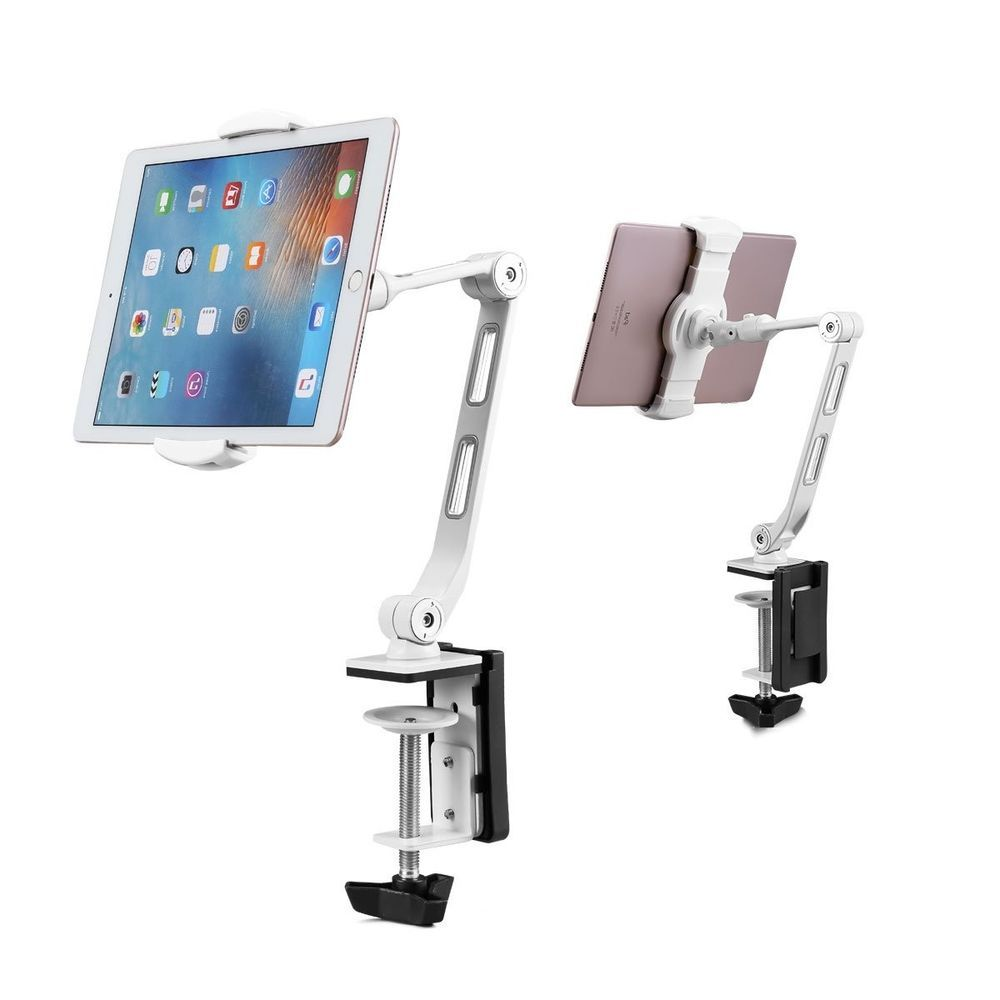 360º Turn Tablet Mount Holder Stand Ipad Pro 12 9 Surface Pro Base Longer Arm Tablet Tablet Mount Ipad Pro 12 9
