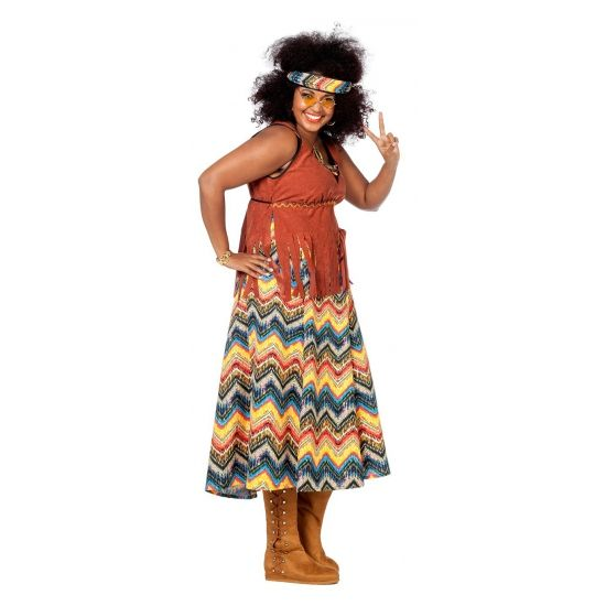 Grote maten Hippie kostuum dames. Carnavalskleding 2016 # ...