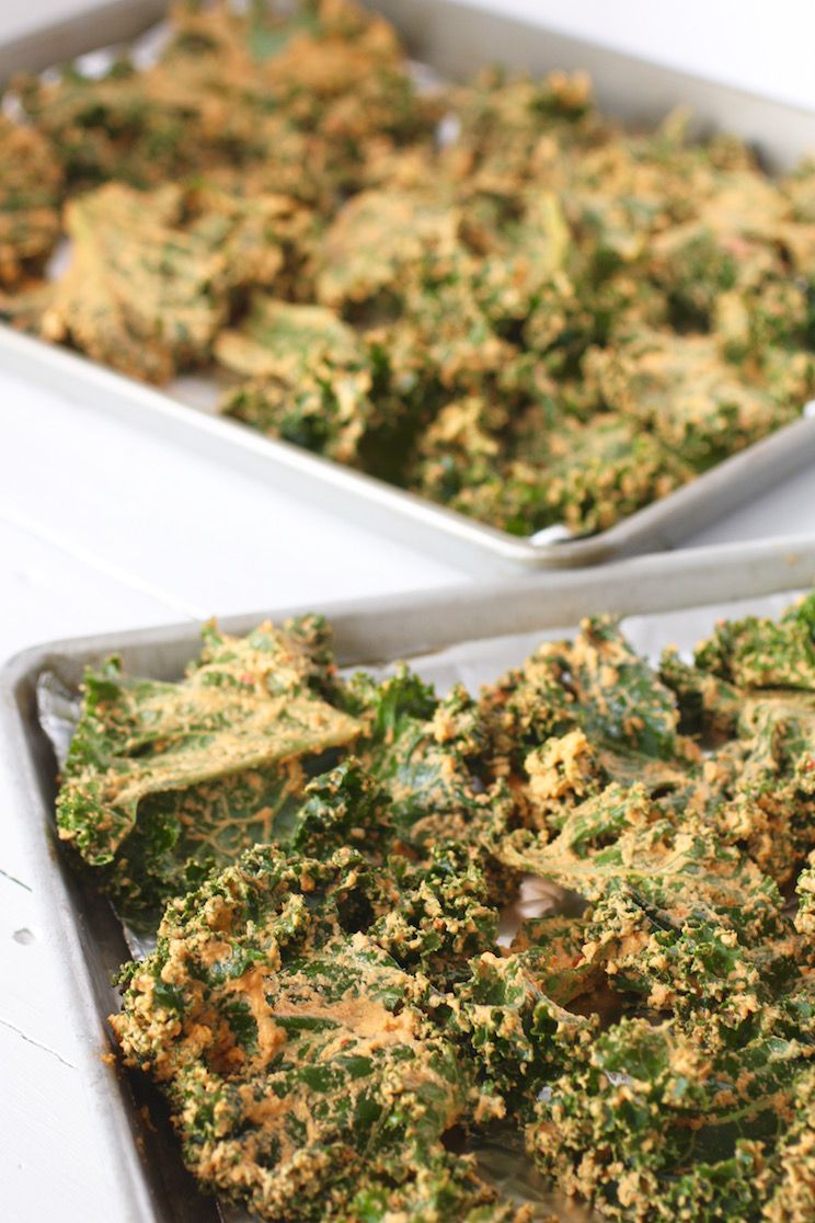 Nacho Cheese Kale Chips Recipe Kale Chip Recipes Kale Chips Paleo Kale Chips