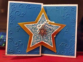 Inking It Up With Cathy: Bright & Beautiful Stars!