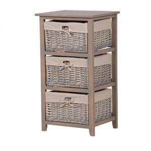 Storage Cabinet With Wicker Baskets Curio Cabinets Wicker