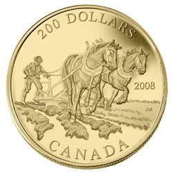 $200 2008 22-Karat Gold Coin - Agriculture Trade