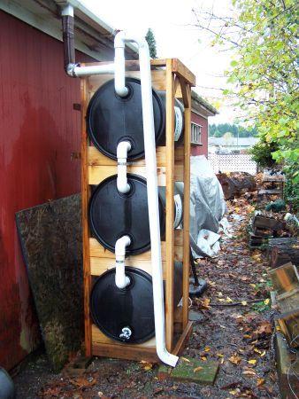 Wa Company Rain Barrel Systems For Sale 350 For Each 150 Gallon