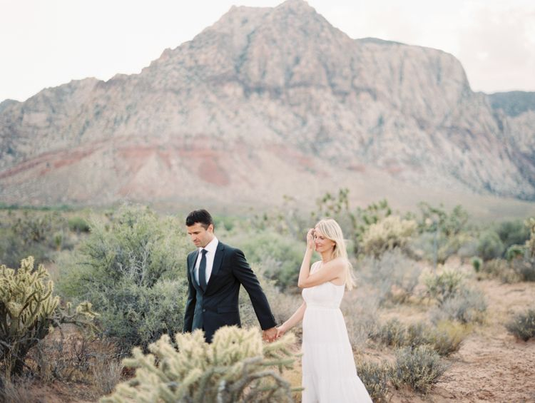 Nevada State Park Desert Elopement Weddingsranch