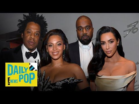 Kanye West Jay Z Reunite 3 Years After Feud At Diddy S 50th Daily Pop E News Youtube With Images Jay Z Kanye West Feud