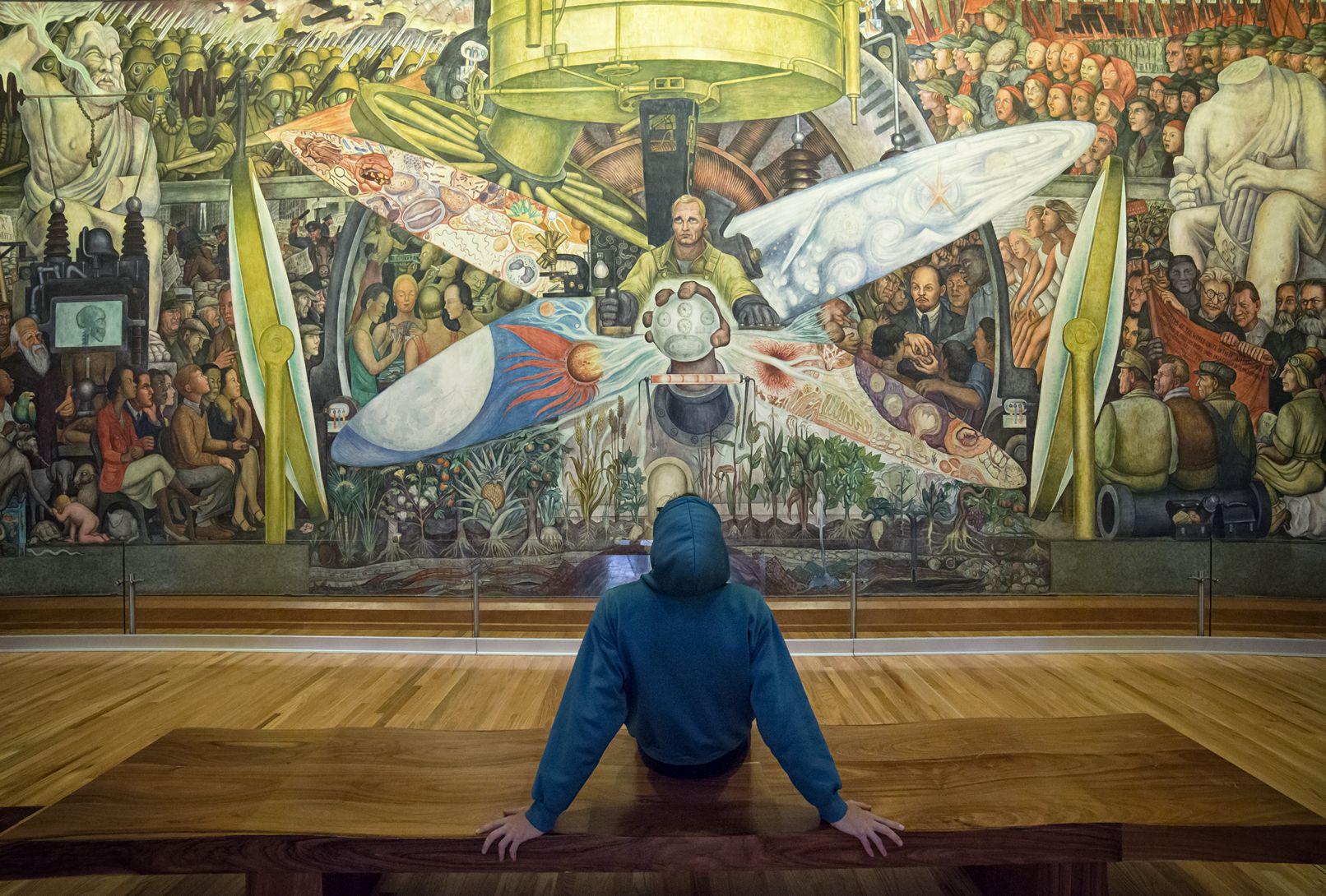 El Mural El Hombre Y El Universo