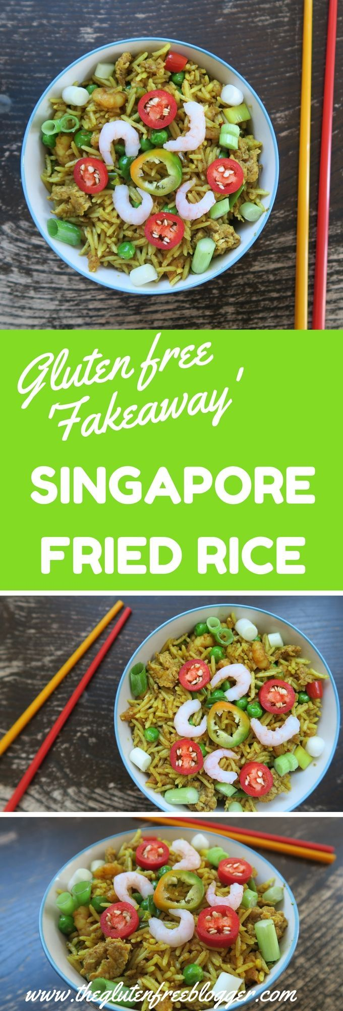 Gluten free chinese ideas singapore fried rice from the gluten craving a gluten free chinese take away fake it with this quick and easy gluten free recipe for singapore fried rice forumfinder Choice Image