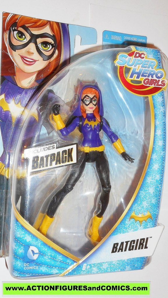 "NEW DC Comics DC Super Hero Girls BATGIRL 6/"" Action Figure Doll with Batpack!"